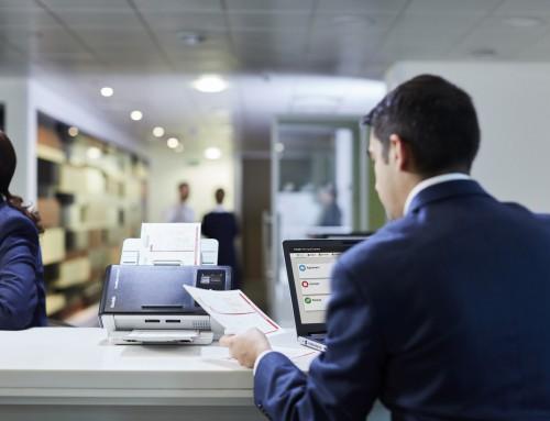 Najboljši dokumentni skener za manjšo pisarno