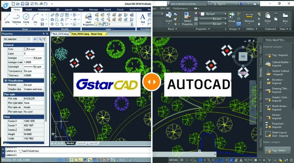 AutoCAD vs GstarCAD